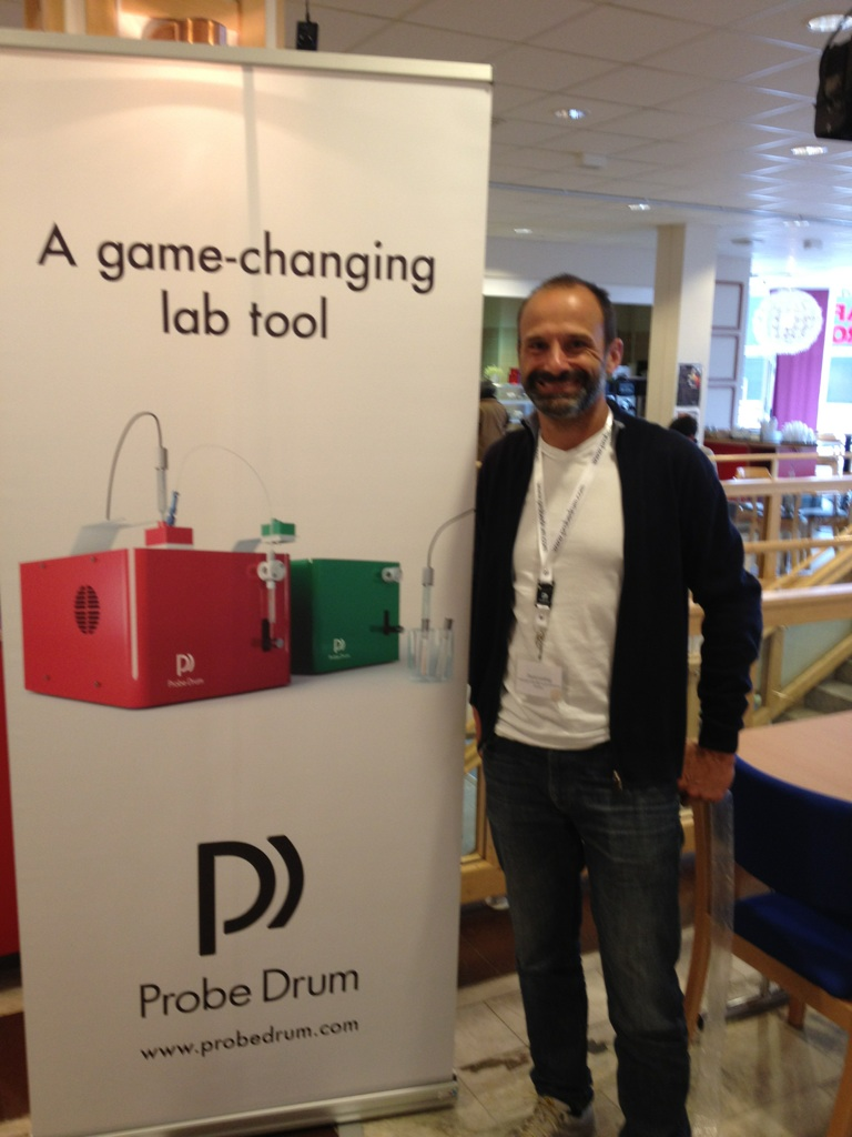 Probe Drum was featured at the Conference on Calcium Binding Proteins and Calcium Function